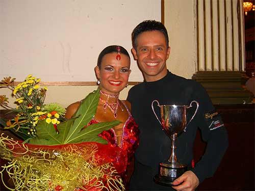Darren Bennett and Lilia Kopylova