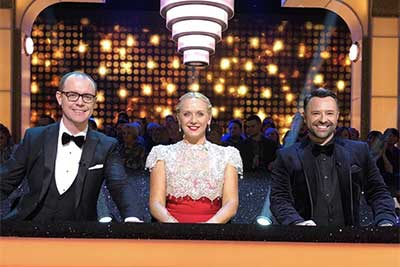 Darren Bennett judges on Dancing With the Stars