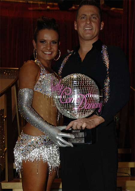 Lilia Kopylova nd Darren Gough win Strictly Come Dancing